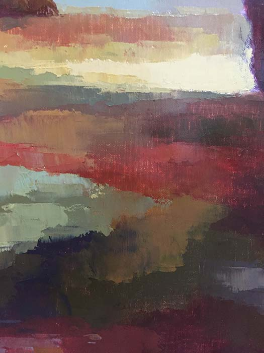 Dusk Reflections II by Samuel, Detail