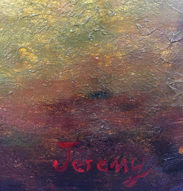 Early Fall by Jeremy, Signature