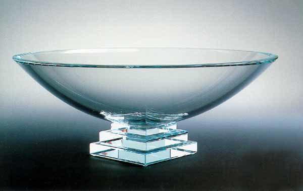 """Eclipse Bowl, 16"""" in Ice by Stephen Schlanser"""