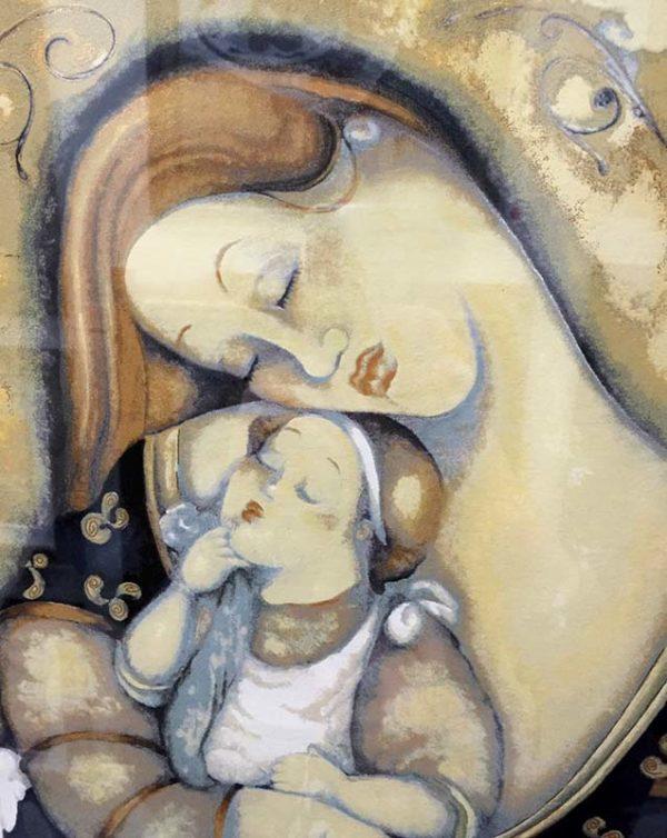 Embrace by Rajka Kupesic, Detail