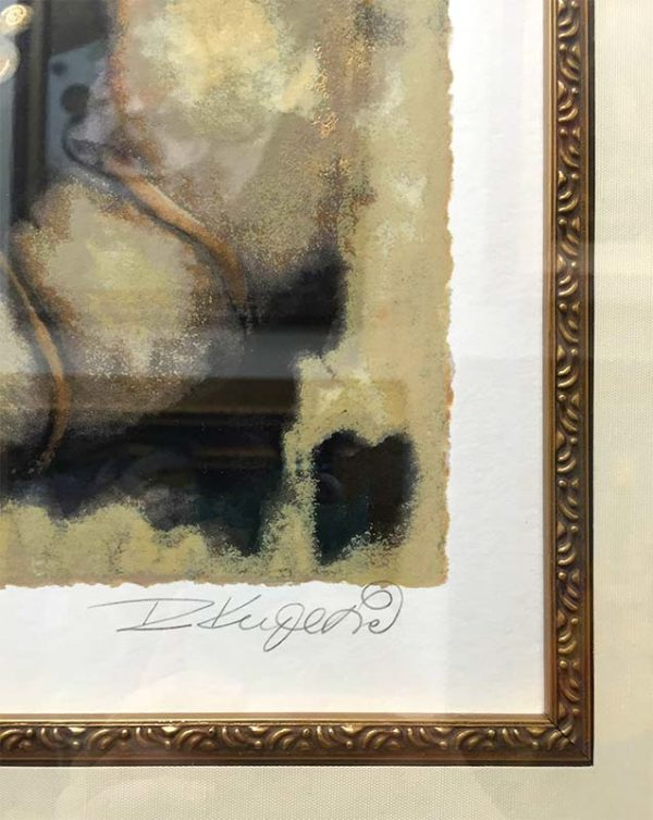 Embrace by Rajka Kupesic, Signature