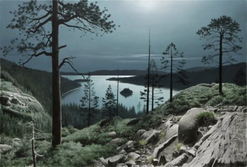 Emerald Bay Moon - Limited Edition