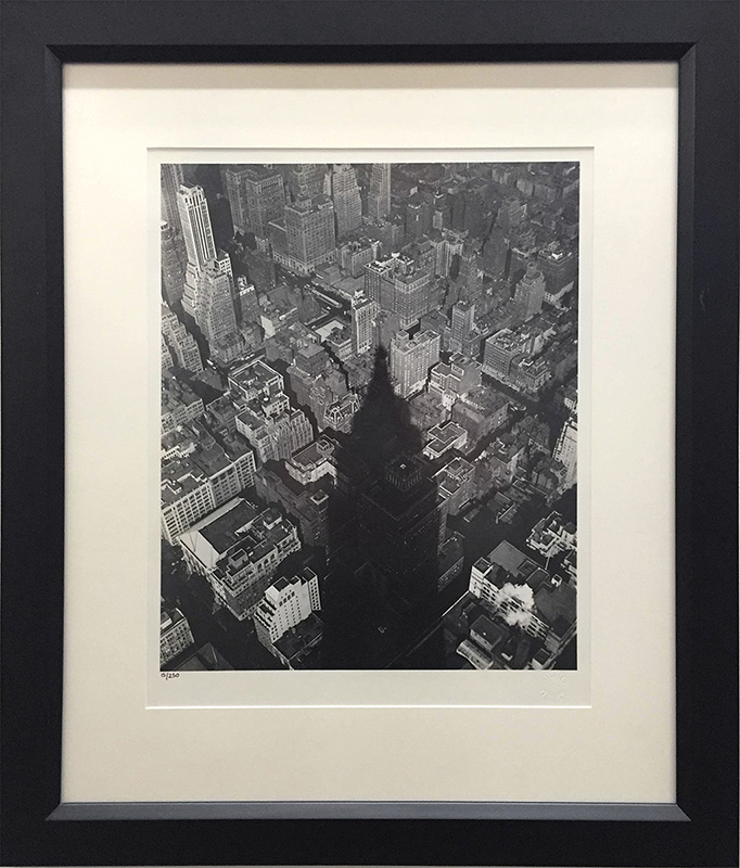 Empire State Shadow by Nat Fein, Overview