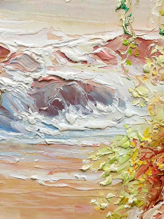 Enchanted River II by Dae Chun Kim, Texture