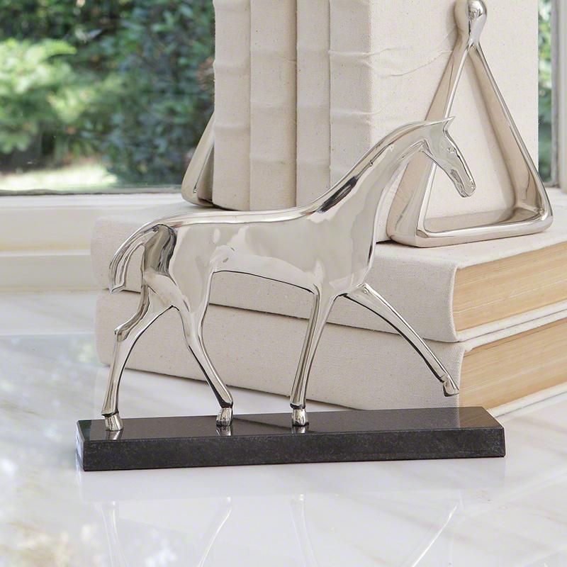 Equestrian Horse Sculpture - 8.81678