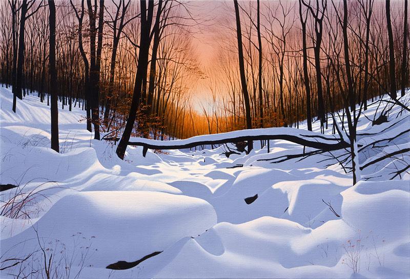 Evening Farewell by Alexander Volkov