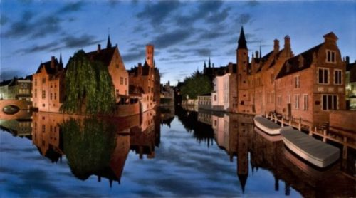 Evening in Bruges - Limited Edition