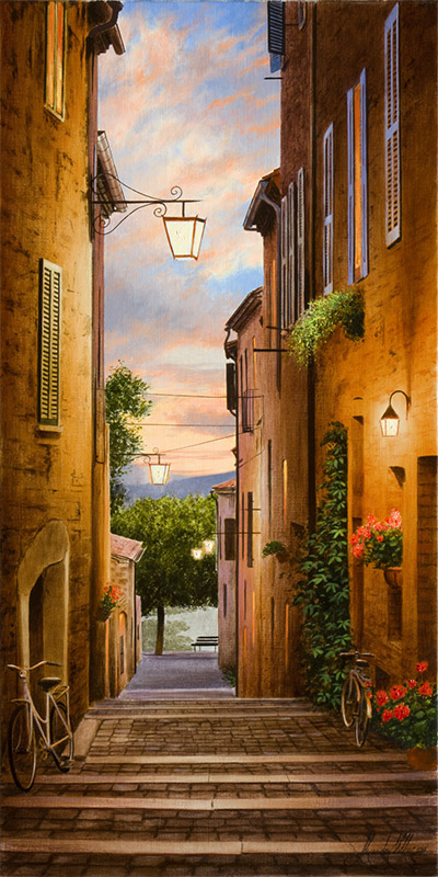 An Evening in Tuscany by Alexander Volkov