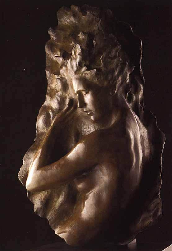 Ex Nihilo, Fragment No. 6 - Bronze Sculpture