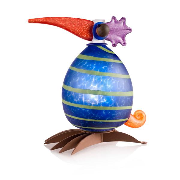 Fat Gonzo Lamp: 24-30-13 in Blue