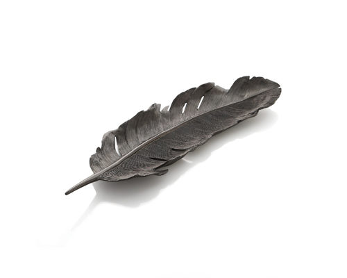 Black Feather Tray