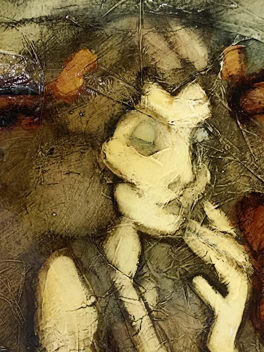 Female Bust Study VI by David Martin, Detail