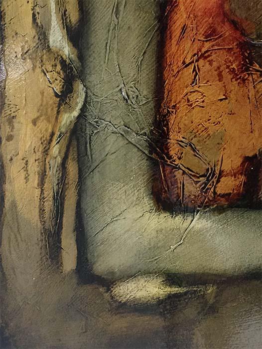 Female Bust Study VI by David Martin, Texture