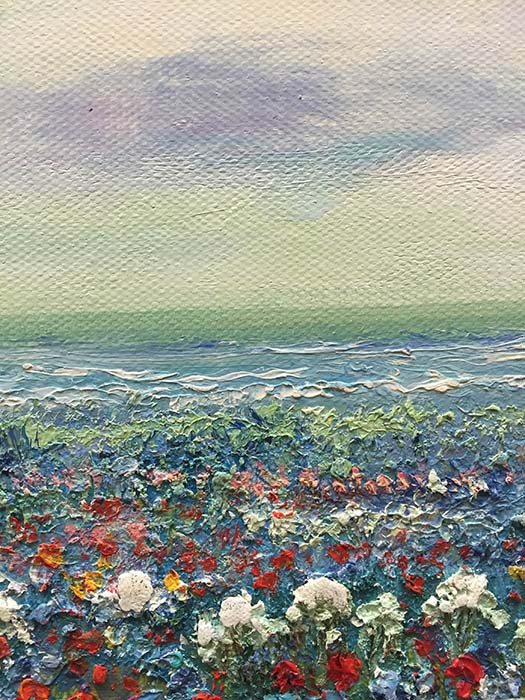 Field of Flowers by Evans, Texture