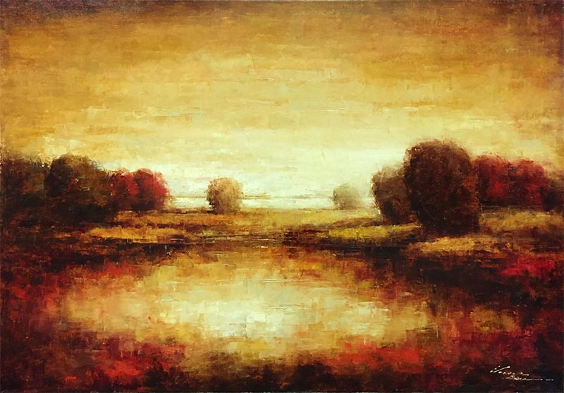Fields of Gold by Victor Ball, Overview