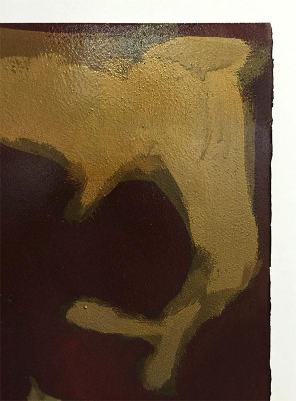 Figure Study I by David Martin, Paper Edge