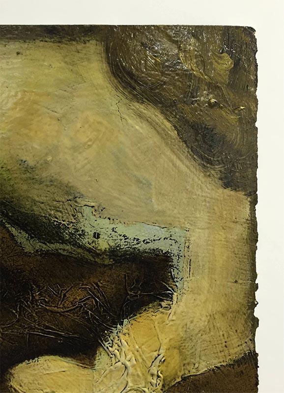 Figure Study III by David Martin, Paper Edge