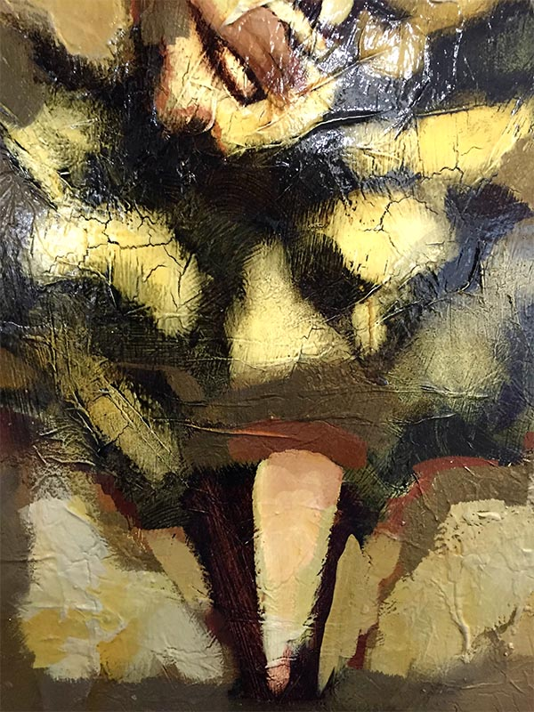 Figure Study IV by David Martin, Detail