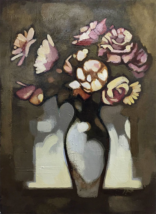 Floral Study I by David Martin, Overview