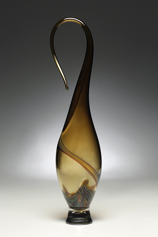 Fontana Vessel by Victor Chiarizia in Whiskey