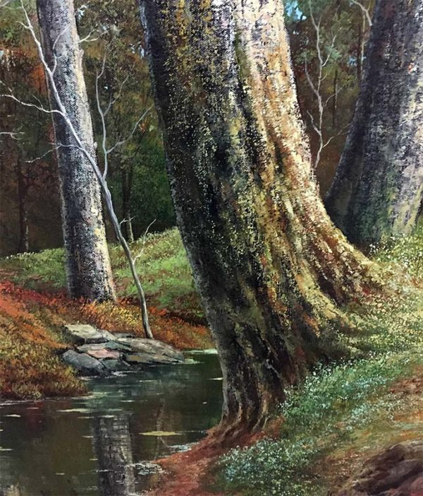Forest Creek by Bacci, Detail