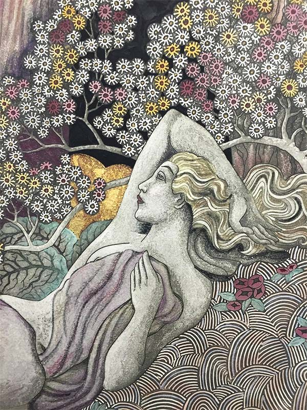 Fragrance of the Woods by William Randall, Detail