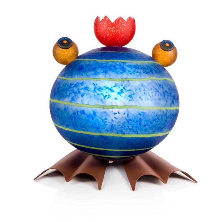 Frog Lamp: 24-31-01 in Blue
