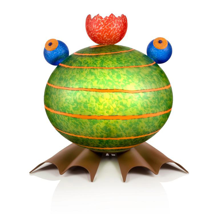 Frog Lamp: 24-31-02 in Green