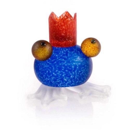 Frosch/Frog Candlebolder: 24-01-57 in Blue
