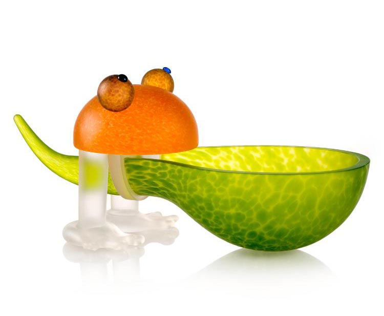 Frosch/Frog Bowl: 24-01-37 in Lime Green