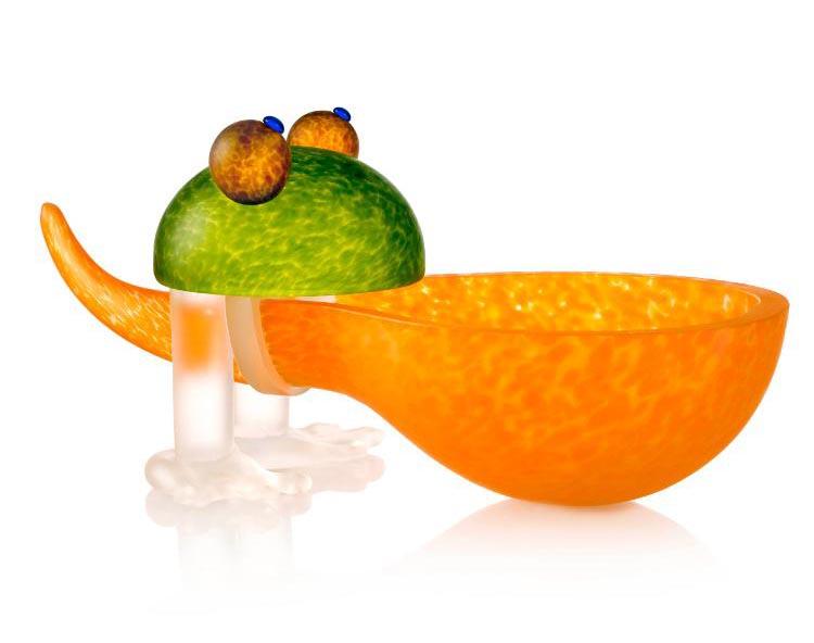 Frosch/Frog Bowl: 24-01-36 in Orange
