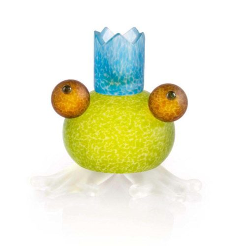 Frosch/Frog Candleholder: 24-01-56 in Lime Green