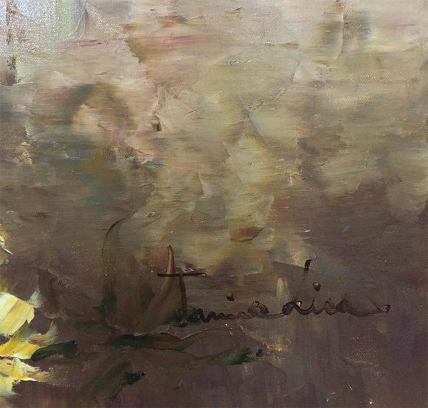 Full Bloom by Jamie Lisa, Signature