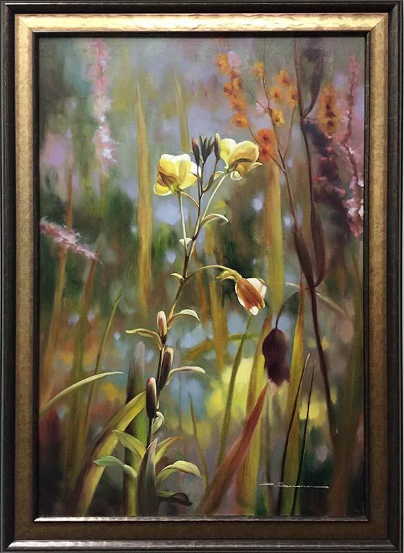 Garden Splendor I by G. Salman, Framed