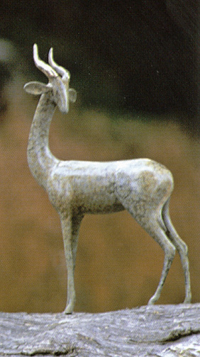 Gerenuk, Standing - Sculpture #365