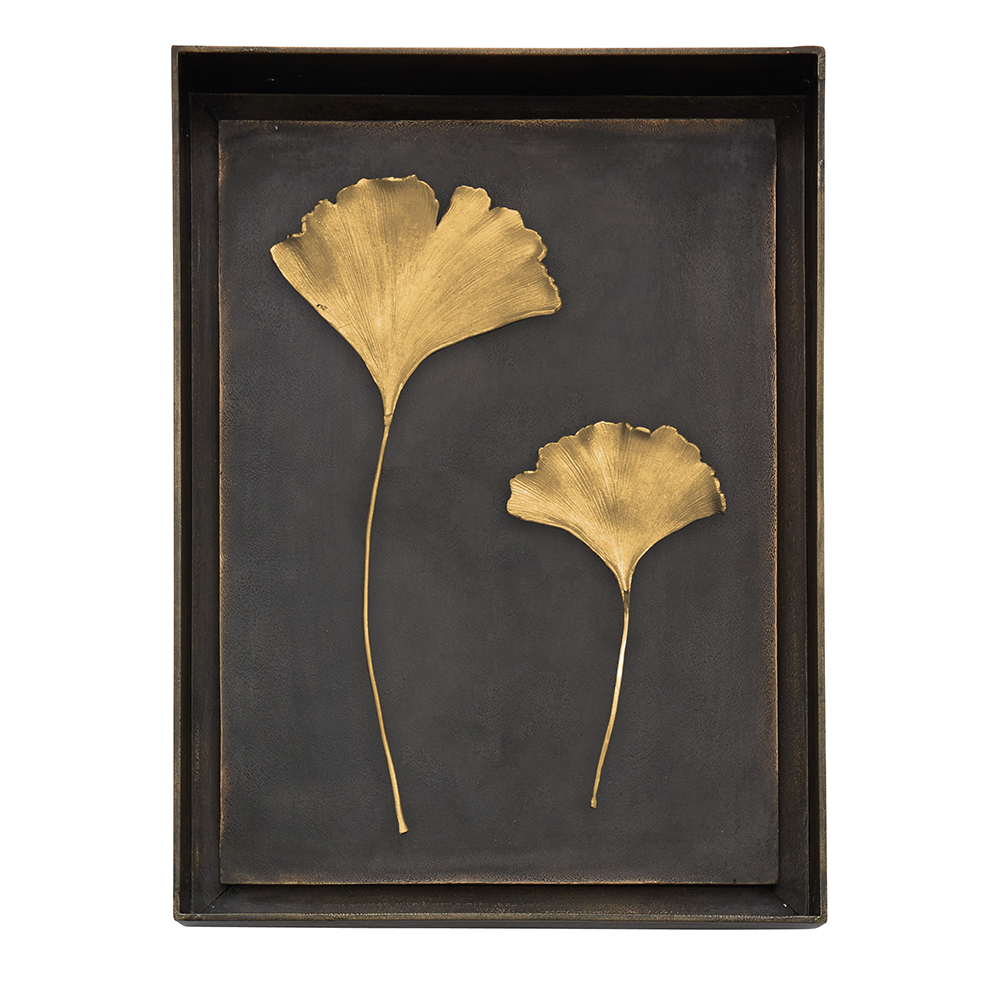 Ginkgo Leaf Shadow Box, Item #176049