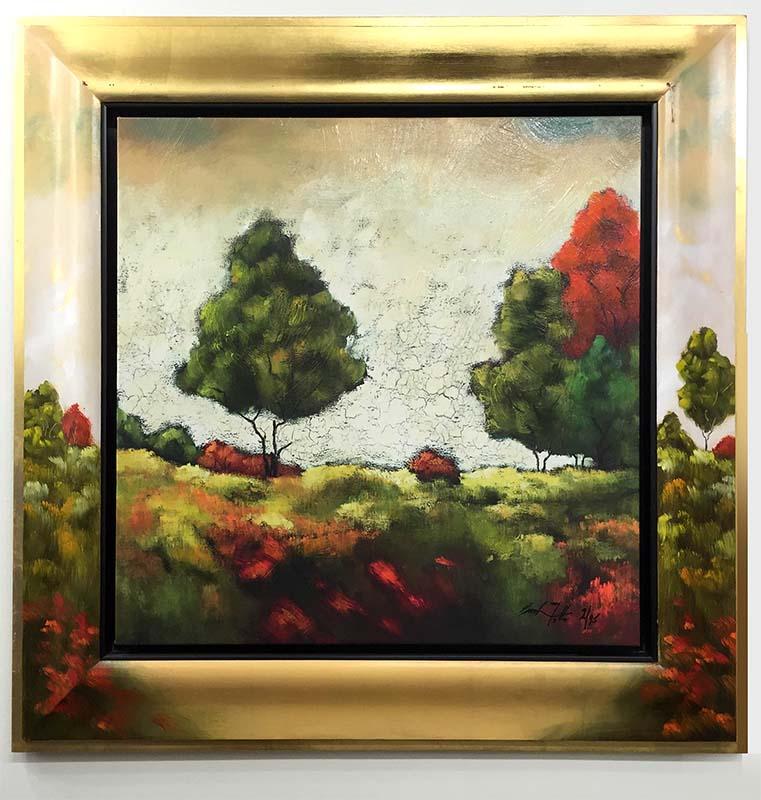 Halcyon Fields I by Emanuel Mattini, Overview