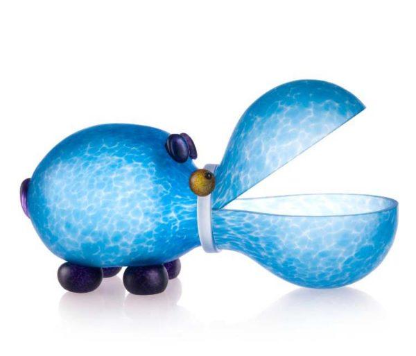 Hippo Bowl: 24-01-68 in Light Blue