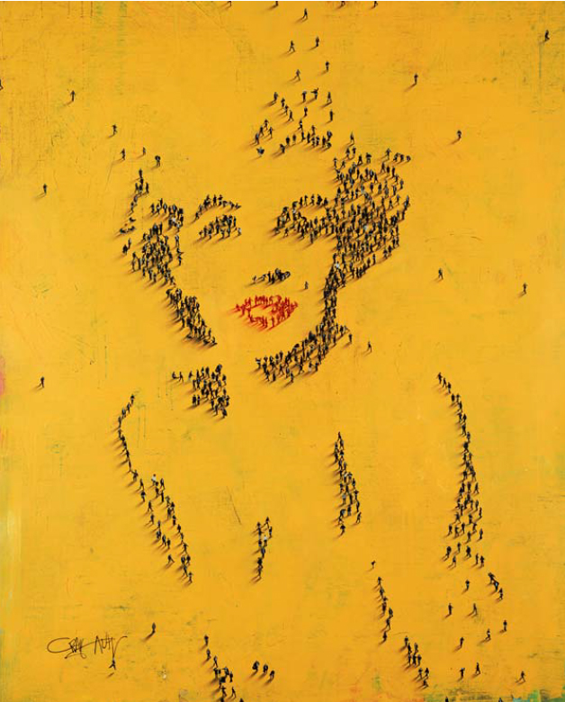 Craig Alan Painting, Marilyn Monroe: Hollywood Dame, Populous Series