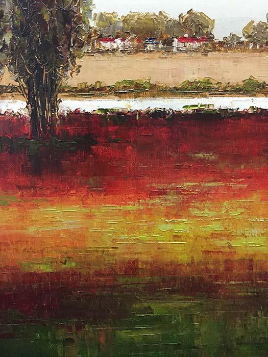Horizon I by Van Matino, Detail