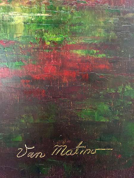 Horizon I by Van Matino, Signature