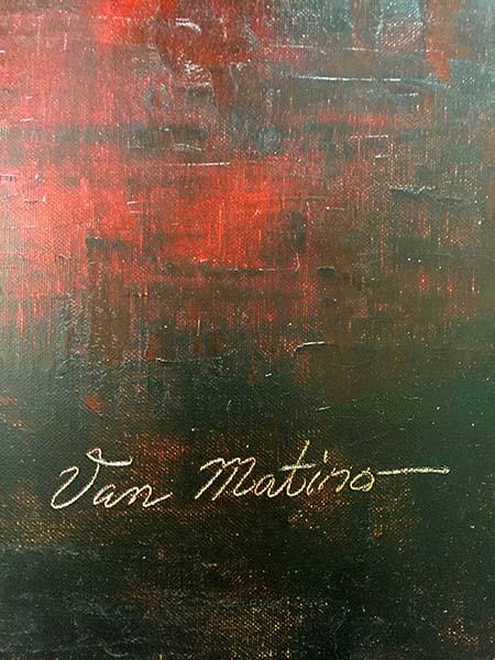 Horizon II by Van Matino, Signature