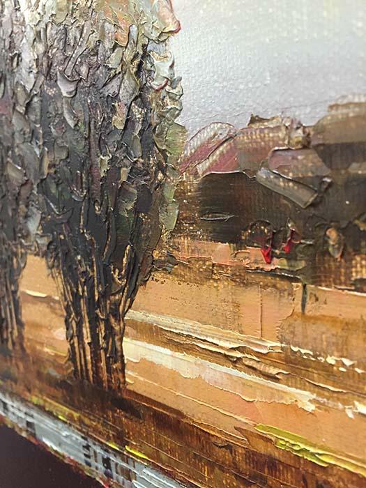 Horizon III by Van Matino, Texture