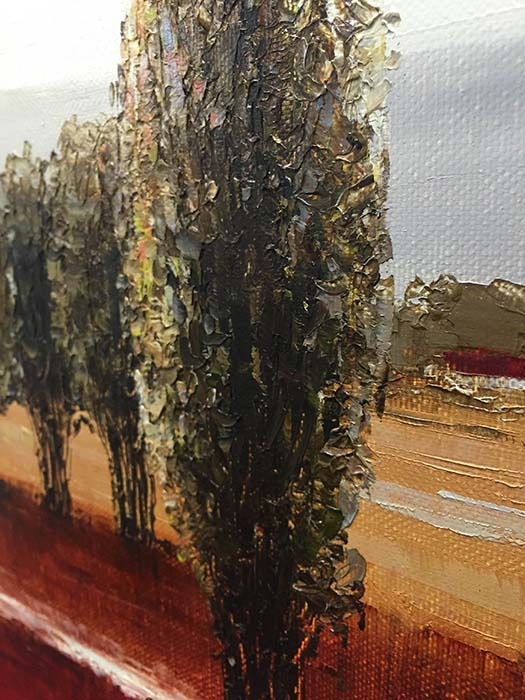 Horizon IV by Van Matino, Texture