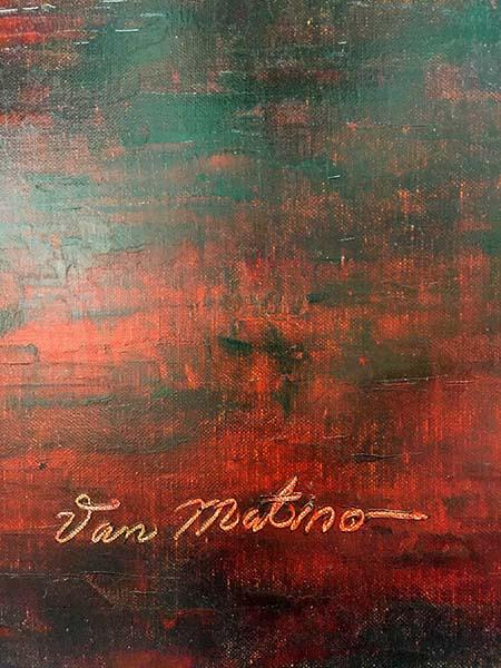 Horizon IV by Van Matino, Signature
