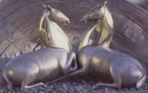 Horses, Imperial Stallions - Sculpture #316M