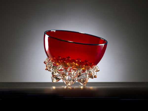 Red Thorn Bowl by Andrew Madvin