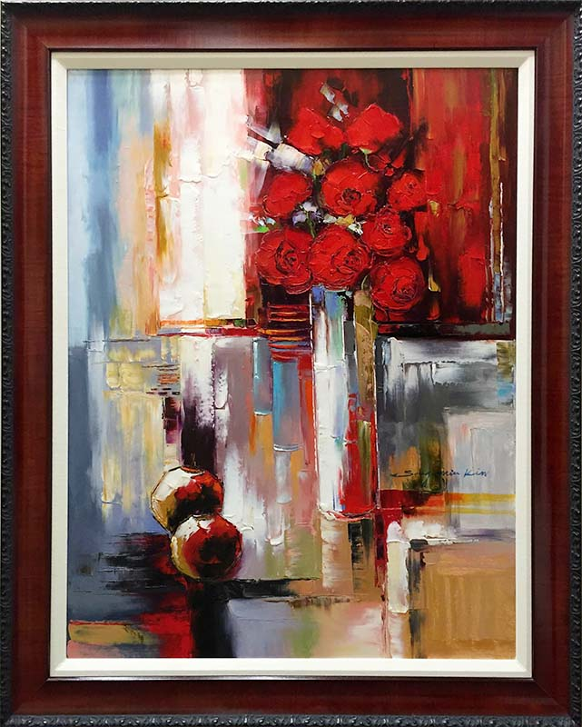 In Full Bloom by Sung Min Kim, Framed