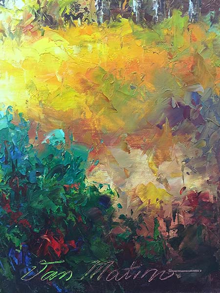 In Living Color V by Van Matino, Signature