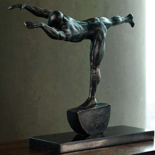 Iron Stretch Sculpture - 8.81355